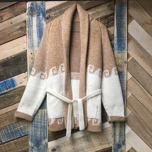 Cozy oversized cardigan sweater